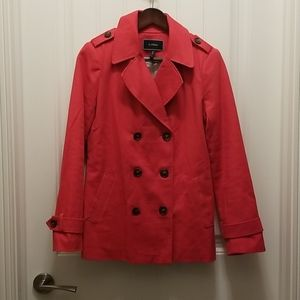 le chateau Red Button-Up Small Jacket